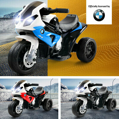 Kids Ride On Motorcycle BMW Power Battery Powered Toddler Toys Electric Bike Car