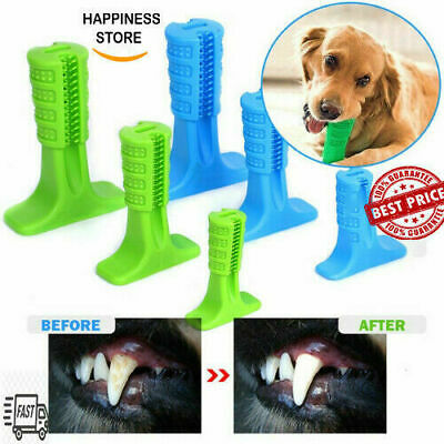 Dog DIY Toothbrush Toy Clean Teeth Brushing Stick Pet Brush Mouth Chewing Clean