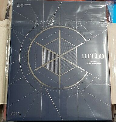 CIX HELLO CHAPTER 2. Authentic NO PHOTO CARD Navy Bae JinYoung Wanna One KPOP