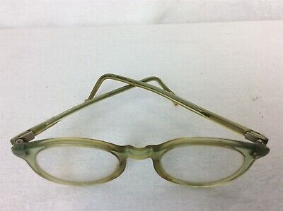 Retro 1940s Glasses Frames in Cases - Set of 2 - Small Size Ladies