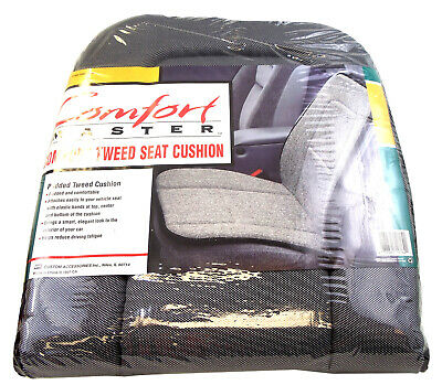 Barjan 08719762 Comfort Master - Charcoal Padded Tweed Seat Cushion