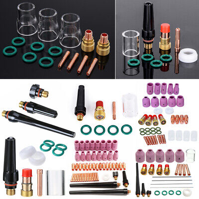 TIG Welding Torch Gas Lens Nozzle Pyrex Cup For WP-17/18/26 WP-9/20/25