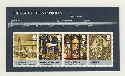 GB Stamps: 2010 House of Stewarts Miniature Sheet MS3053