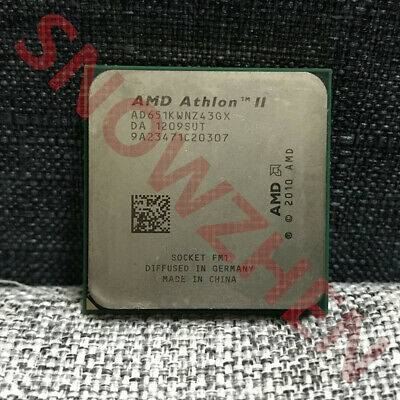 AMD Athlon II X4 651K CPU AD651KWNZ43G Quad-Core 3.0GHz 4M Socket FM1 Processors