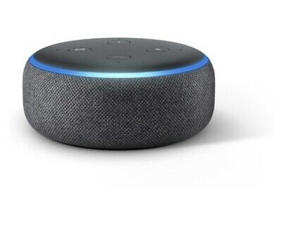 BRAND NEW Echo Dot (3rd Gen) - Smart speaker with Alexa - Charcoal - Unopened