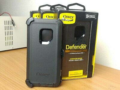 Otterbox Defender Case WITH Holster For Samsung Galaxy S9 Screenless Ed. GENUINE