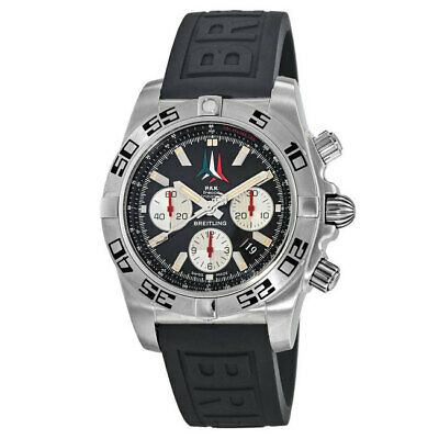 New Breitling Chronomat 44 Frecce Tricolore Men's Watch AB01104D/BC62-153S