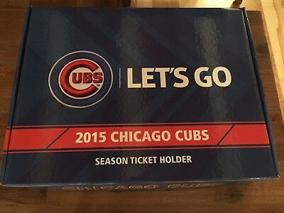2015 Chicago Cubs Season Ticket Holder Box NEW