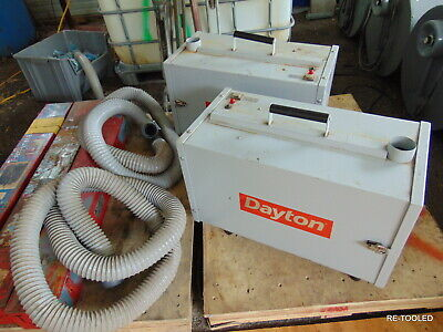 (1) Portable Welder Smoke Fume Extractor 5 Stage Industrial Air Cleaner Dayton