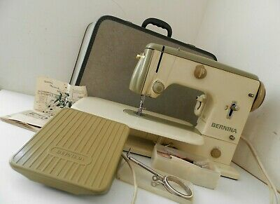 BERNINA Free Arm 600 Sewing Machine with Case & Accessories ~ Free UK Post