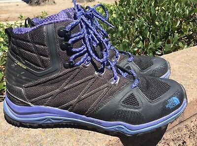 low priced 152e3 62264 NORTH FACE WOMENS Ultra Fastpack II Mid GTX Hiking Boots,Grey/Violet, Size  9.5