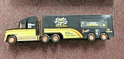 Sealed NIB 1997 Sunoco Collectible Racing Team Toy Truck Gold Limited Edition