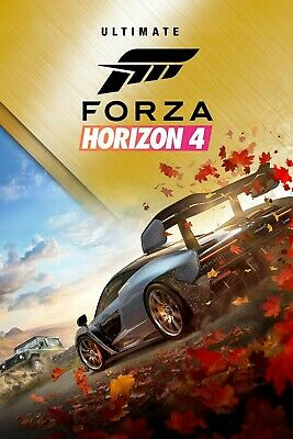 Forza Horizon 4 Ultimate Edition for PC Windows 10 [ACCOUNT]