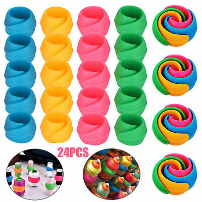 Bathroom Sink Strainer Hair Catcher Drain Protector Shower Clog Trap Stopper 2pc