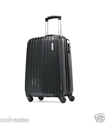 "Samsonite Carbon1 Dlx 20"" Spinner Wheel Luggage Silver Brand New Best Offer!"