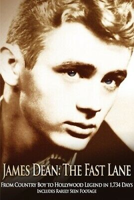 JAMES DEAN THE FAST LANE New Sealed DVD 10 Early TV Appearances 9 Hours
