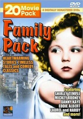FAMILY CLASSICS 20 MOVIE PACK New DVD Jack Benny Cary Grant Shirley Temple