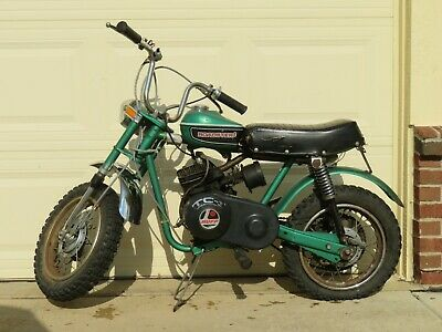 old vintage rupp roadster 2 minibike with tecumseh engine running!