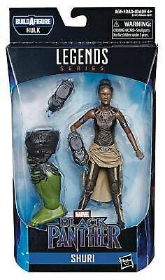"2019 Hasbro Toys Marvel Legends Hulk Baf Shuri 6"" Action Figure Mip Avengers"