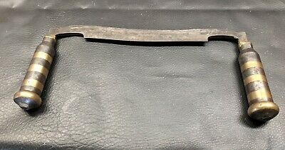 Vintage Draw Knife Unmarked All Metal