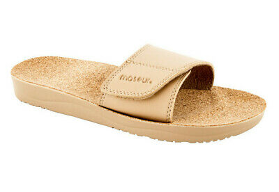 Maseur Massage Sandal Gentle Beige Support for Arches, Heels and Toes NEW SIZE 8