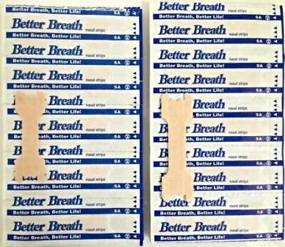 HOT Nasal Strips 200Pcs Breathe Better Anti Snore by Clever Contraptions