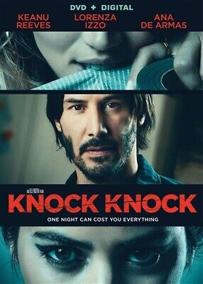 KNOCK KNOCK New Sealed DVD Keanu Reeves