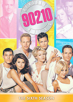 BEVERLY HILLS 90210 SEASON 6 New Sealed 7 DVD Set