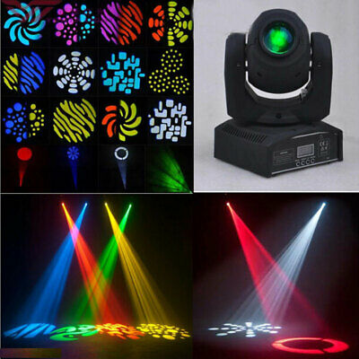 2X 50W RGBW Mini Moving Head LED Stage Lighting DMX512 Disco DJ Xmas Party Light
