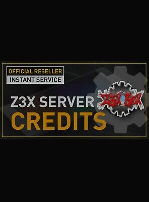 Z3X Server Credits pack (100 Credits) REFILL OLD PACK {FAST DELIVERY }