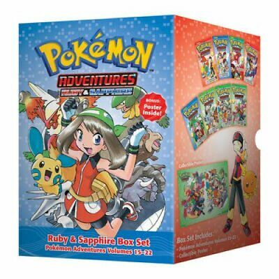 Pokemon Adventures Ruby & Sapphire Box Set Includes Volumes 15-22 9781421577