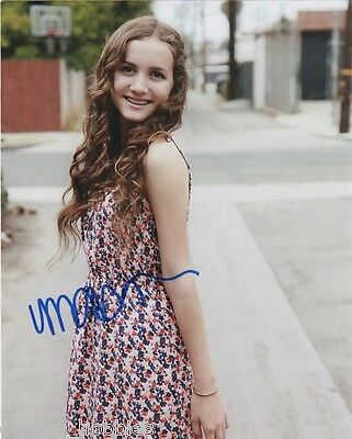 Maude Apatow Autographed Signed 8x10 Photo COA B