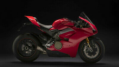 Ducati 1299 panigale r final edition Silk Poster 24 X 14 inch