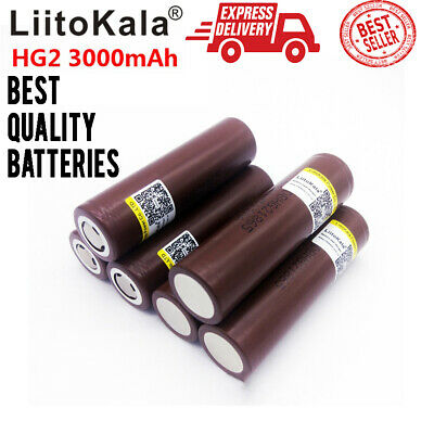Lii-HG2 Rechargeable Battery New Quality 18650 3.7V 3000mAh Power Batteries LOT