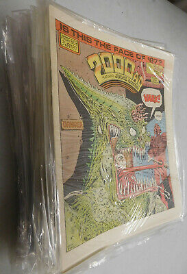 2000AD 1987 lot of 52 comics from Prog 503 to 554 VF- Judge Dredd Zenith PSI
