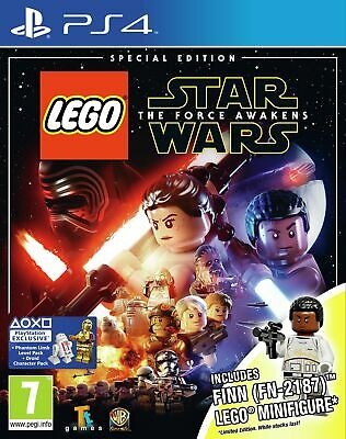 LEGO Star Wars: The Force Awakens Special Edition Sony Playstation PS4 Game.