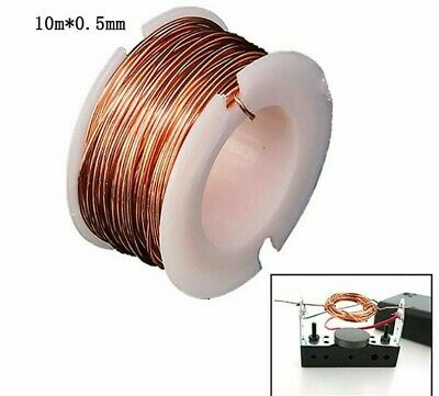 Magnet Wire Enameled Magnetic Copper Coil Winding For Electromagnet Motor 10m