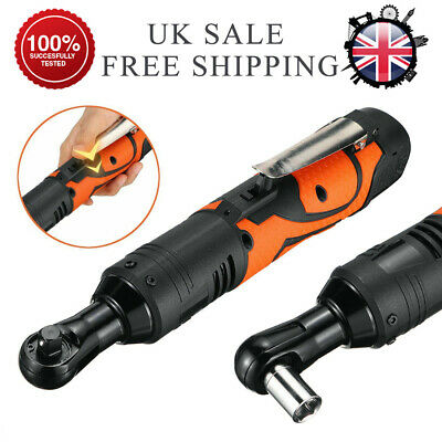 3/8'' 60Nm Electric Cordless Right Ratchet Angle Wrench Tool & 1Pcs Battery 18V