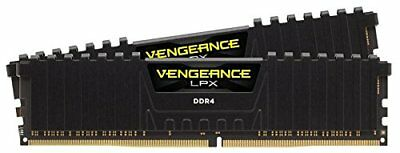 Corsair Vengeance Memory Kit Desktop LPX 16GB (2x8GB) DDR4 DRAM 3000MHz C15