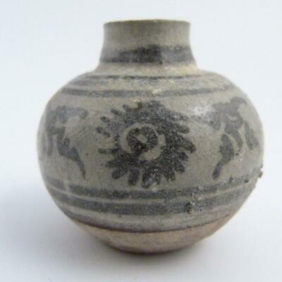 Chinese Ming Dynasty Blue And White Porcelain Shipwreck Jarlet, 15Th Century