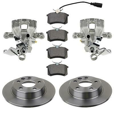 2x Brake Caliper 2x Brake Disc Set of Brake Pads Rear Left Right Seat Alhambra