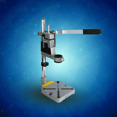 Bench Clamp Drill Press Stand w/ Side Clamp Tool for 38/43mm Drilling Collet NEW