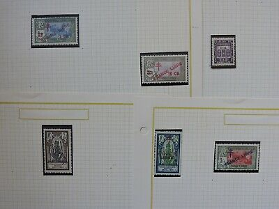 Lot French India Stamps See Pics ! Mnh & Mint Hinged ! Collection L@@K !!!!!!!!