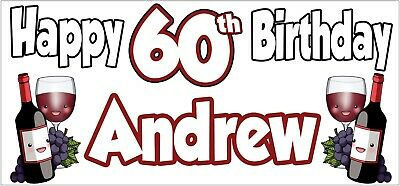 Gin /& Tonic 29th Birthday Banner x2 Party Decoration Adult Ladies Mens ANY NAME