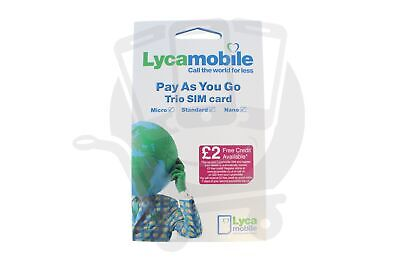 US USA SIM Card Lyca Mobile Usa 3 In 1 Sim Plans Start From $19 Free