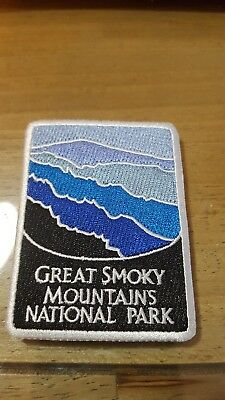 Great Smoky Mountains National Park Iron On Patch - embroidered