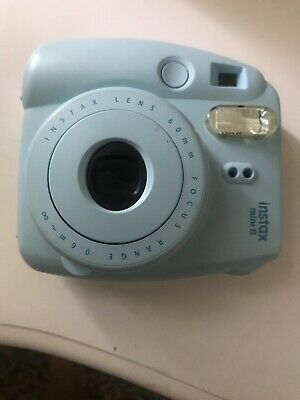Fujifilm Instax Mini 8 Polaroid Camera - Ice Blue