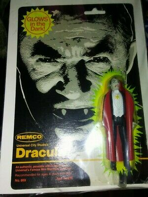 Remco Dracula 1980 monster action figure mint universal monsters