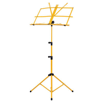 Foldable Sheet Music Tripod Stand Holder Lightweight with Water-resistant P5G7
