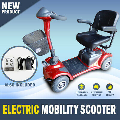 NEW Large Electric Mobility Scooter – Latest Model 40AH Batteries